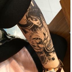 Xăm Dán Tattoo Cá Chép