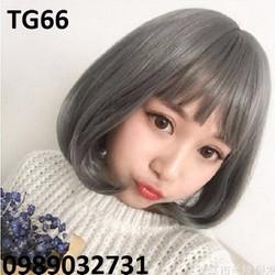Tóc giả nữ màu khói siêu cá tính  - TG66