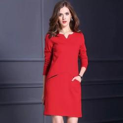 Hàng order: Đầm suông cao cấp  DS985 từ XL - 5XL