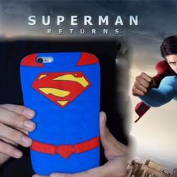 Ốp thú nổi 3D siêu nhân Supper man IPHONE 5s