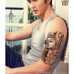 Xăm Dán Tattoo Hình Phật