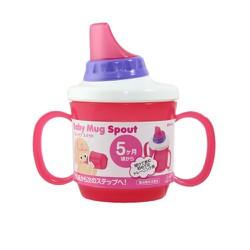 Cốc tậpuống nước Baby Mug Spout màu xanh