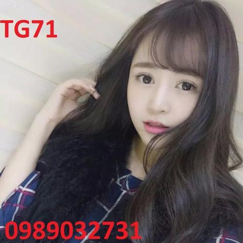 Tóc giả dễ thương Hàn Quốc  - TG71