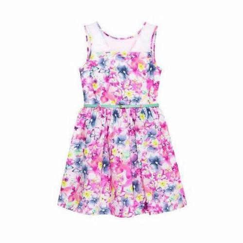 Váy BG họa tiết hoa kèm belt - Hàng nhập Mỹ