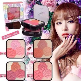 Má hồng Odbo Rose Blush chính hãng Thái Lan - MHODTL thumbnail