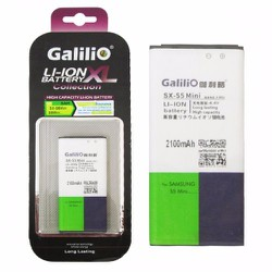 Pin Samsung Galaxy S5 Mini - 2100mAh hiệu Galilio