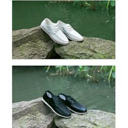 giày cột dây nam da mềm