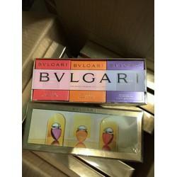 Bộ nước hoa Gift Set mini Nữ BVL OMNIA 3 chai  15mlx3