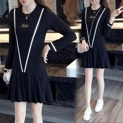 Đầm xòe đuôi cá nữ thời trang dạo phố trẻ trung năng động 2016