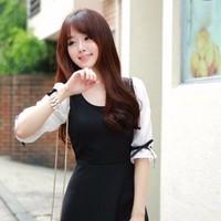 Đầm xòe tay lỡ dễ thương - SSH309