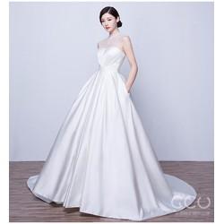 Áo cưới trắng Hàn Quốc
