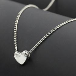 Dây chuyền trái tim xinh xắn DC22 - Màu bạc