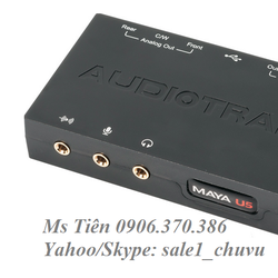 Card âm thanh Audiotrak MAYA U5