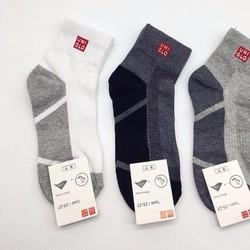 Combo 3 đôi tất nam cổ dài uniqlo Nhật Bản