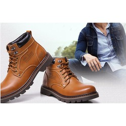 Giầy boots nam cao cấp KGBN 02
