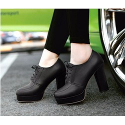 Giầy boots nữ cao gót KGB 11