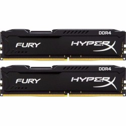 Ram Kingston 8GB 2400Mhz DDR4 CL15 DIMM Fury HyperX Black