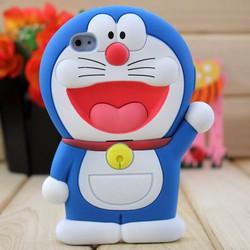 Ốp Silicon Doraemon 3D IPHONE 5