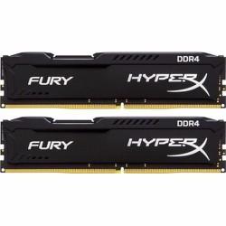 Ram Kingston 8GB 2666Mhz DDR4 CL15 DIMM Fury HyperX Black