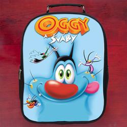 Balo in hình Oggy