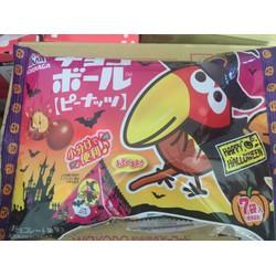 Socola nhân đậu phộng Morinaga mẫu Halooween