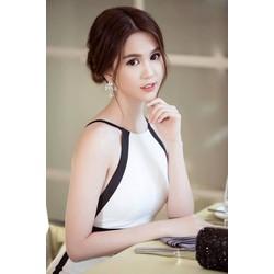 Váy hở lưng đẹpthiết kế ôm body đẹp như Ngọc Trinh M31024