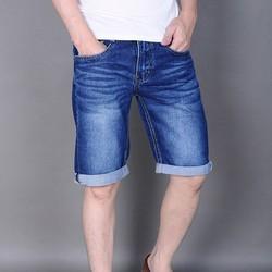 Quần short Jeans nam đơn giản thời trang