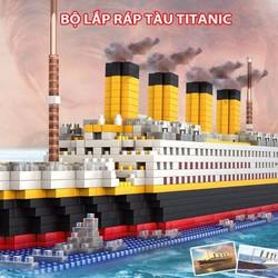 Bộ lắp ráp hình tàu Titanic