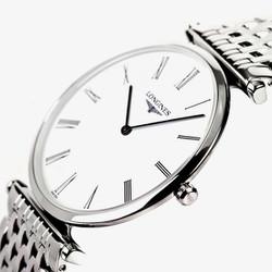Đồng hồ nam dậy kim loại mặt kính Sapphire chống chầy