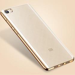 Ốp dẻo trong suốt viền xi Xiaomi Mi 5