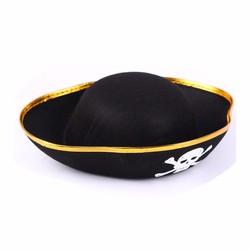 Hóa Trang Halloween Mũ Cướp Biển Đen Queenie