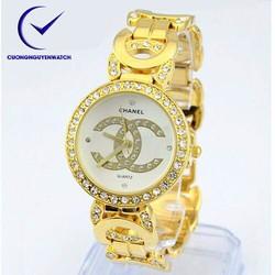 Đồng hồ nữ cha,nel dạng lắc cá tính - CH09