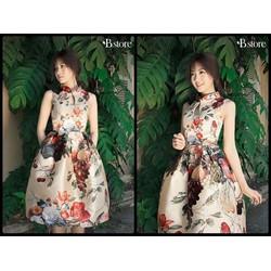 Đầm vintage hoa ngọt ngào-NU HOUSE