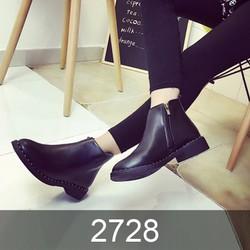 GIÀY BOOT NỮ VIỀN NẠM ĐINH - MSP 2728