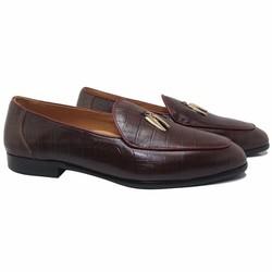 Giày lười thu nâu mận độc đáo 2016 mã GL0091NM