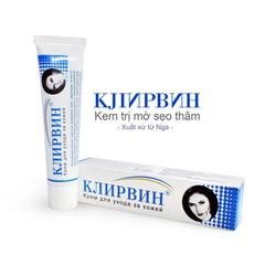 Kem trị sẹo Klirvin – xóa mờ các vết sẹo, thâm hiệu quả