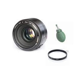 Ống kính YN 50mm F1.8 cho Nikon tặng kèm filter UV + Bóng thổi
