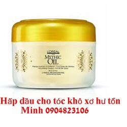 Mythic Oil Treatment loreal hấp dầu phục hồi tóc khô xơ hư  200ml
