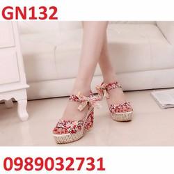 Giày đế xuồng ren cso cấp - GN132