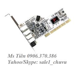 Card âm thanh Audiotrak Maya 5.1 MK-II Zeni