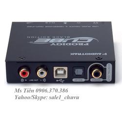 Card âm thanh Audiotrak Prodigy Cube Black Edition