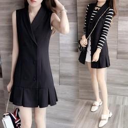 Váy suông nữ thời trang nữ trẻ trung năng động 2016