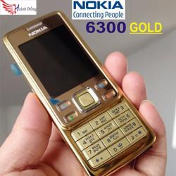 NOKIA 6300 GOLD - Tặng Pin và cóc sạc loại tốt