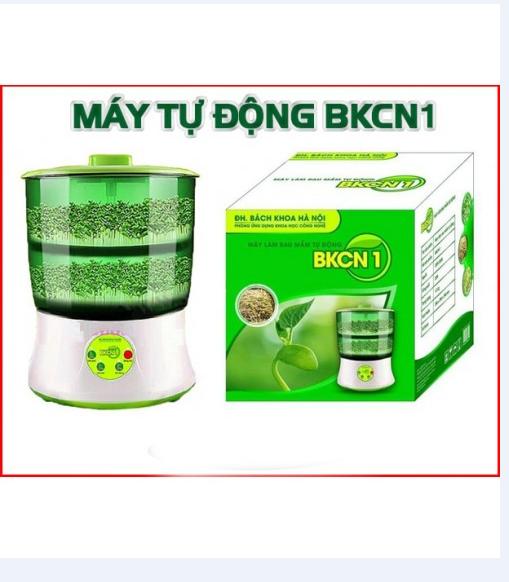 Máy làm giá đỗ rau mầm sạch của Đại học bách khoa Hà Nội 4