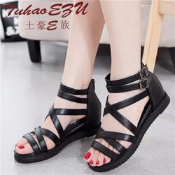 Giày Sandal nữ quai chéo cá tính kiểu dáng thời trang - SG0312