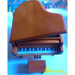 Hộp Nhạc Đàn Piano Gỗ
