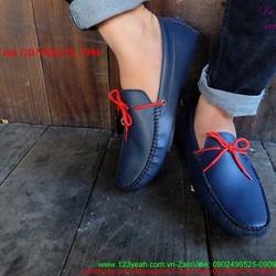 Giày mọi da nam thắt nơ đi tiệc đi chơi sành điệu GDNHK178