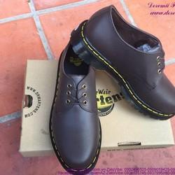 Giày da nam Doctor cổ thấp mẫu mới sành điệu GDOC35