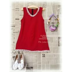 Đầm viền tua rua Hàng Thái