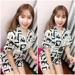 Pijama - kate y hình- hàng Quảng Châu-GS95